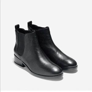 Cole Haan landsman black ankle Chelsea boots